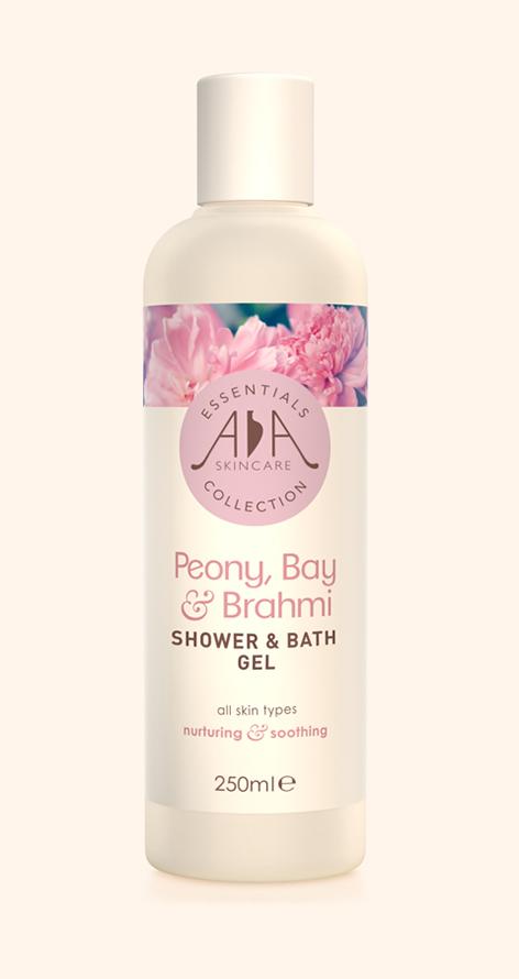 AA Skincare Peony, Bay and Brahmi Liquid Shower and Bath Gel
