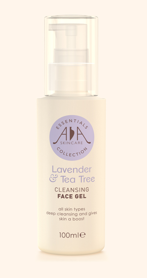 Lavender & Tea Tree Cleansing Face Gel