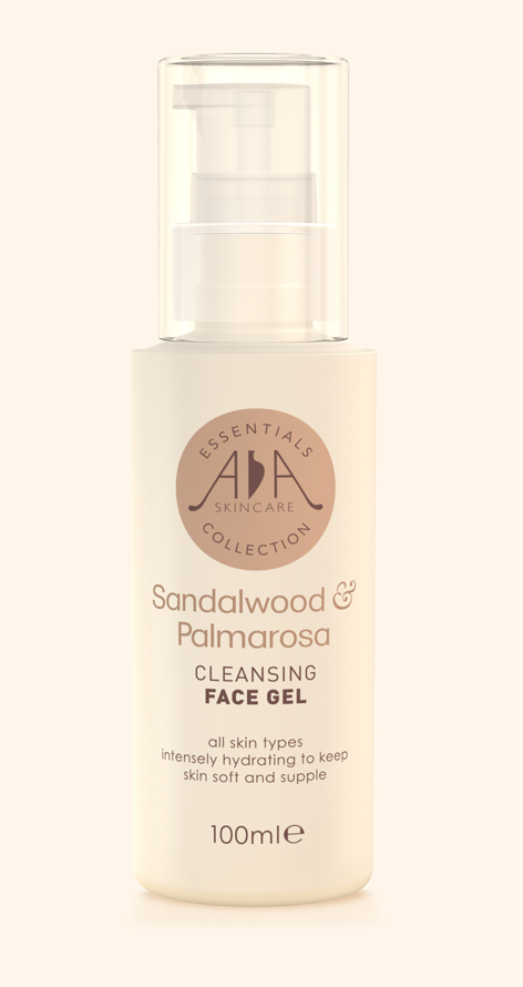 Sandalwood & Palmarosa Cleansing Face Gel