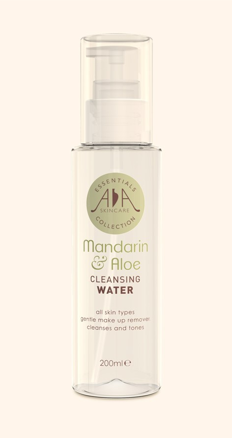 Mandarin & Aloe. CLEANSING WATER