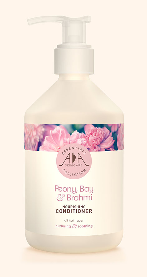 Peony, Bay & Brahmi Shower & Bath Gel AA Skincare - Salon Size 500ml