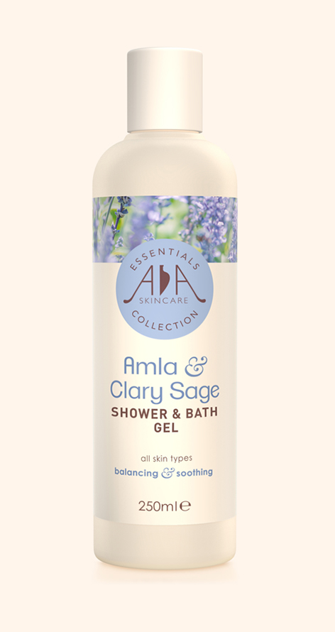 Amla & Clary Sage Shower & Bath Gel Single
